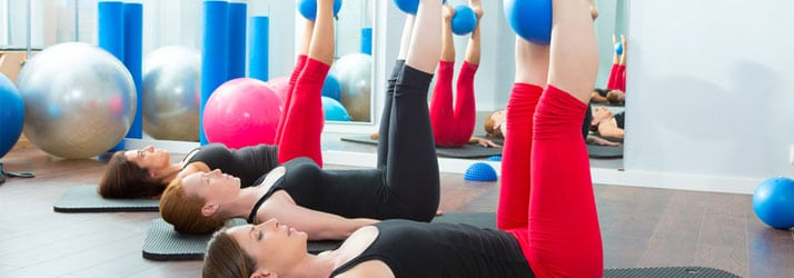 Women Doing Pilates at Morrison Chiropractic