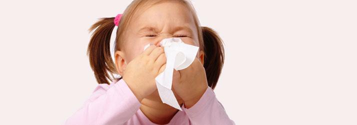 Child Suffering from Coronavirus