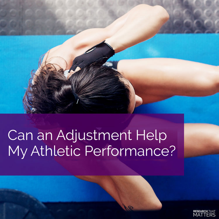 Chiropractic Clarksville MD Athletic Performance